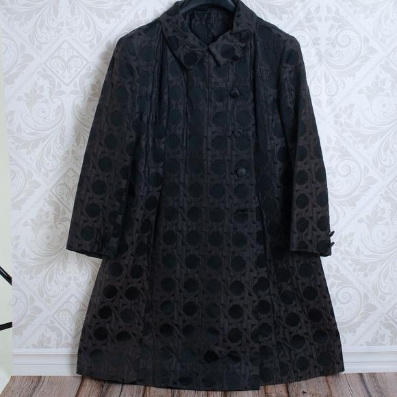 Bergdorf Goodman Jackets & Blazers - BERGDORF GOODMAN on the plaza vintage black coat